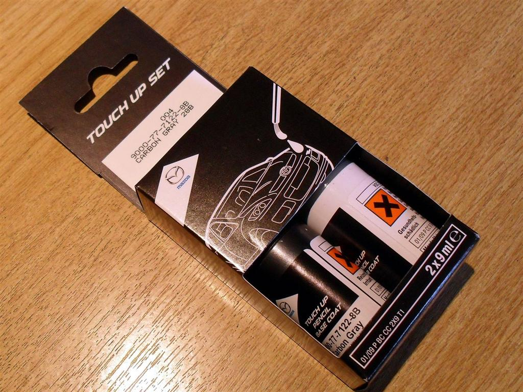 Paint Touch Up Kit Genuine Mazda 28b Carbon Grey