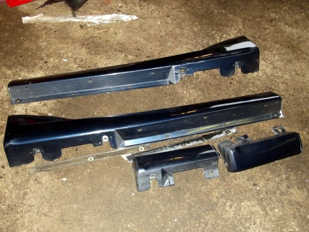 Side Skirts Mazda Mx 5 Mk2 Twilight Blue 12k
