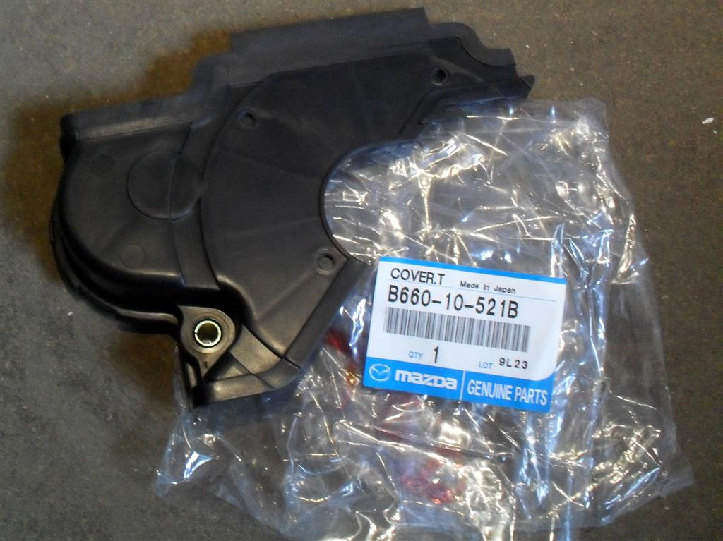 Timing Belt Cover Mazda Mx 5 Middle B66010521b New