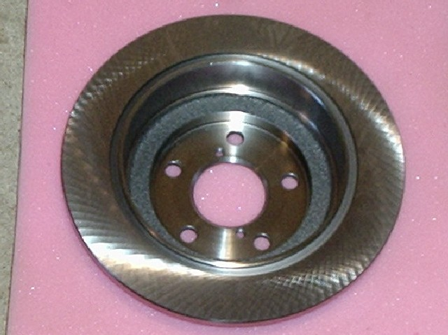 Brake disc, rear, 266mm, solid, Subaru Forester/Impreza/Legacy