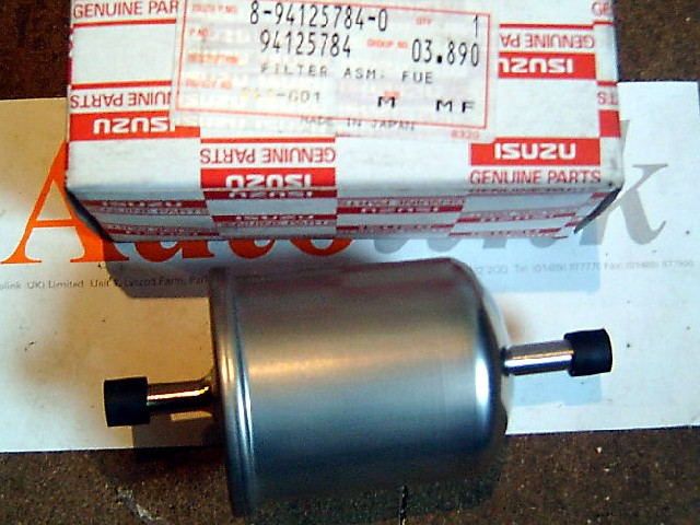 Fuel filter, Isuzu Trooper 2.6 4ZE1, OEM