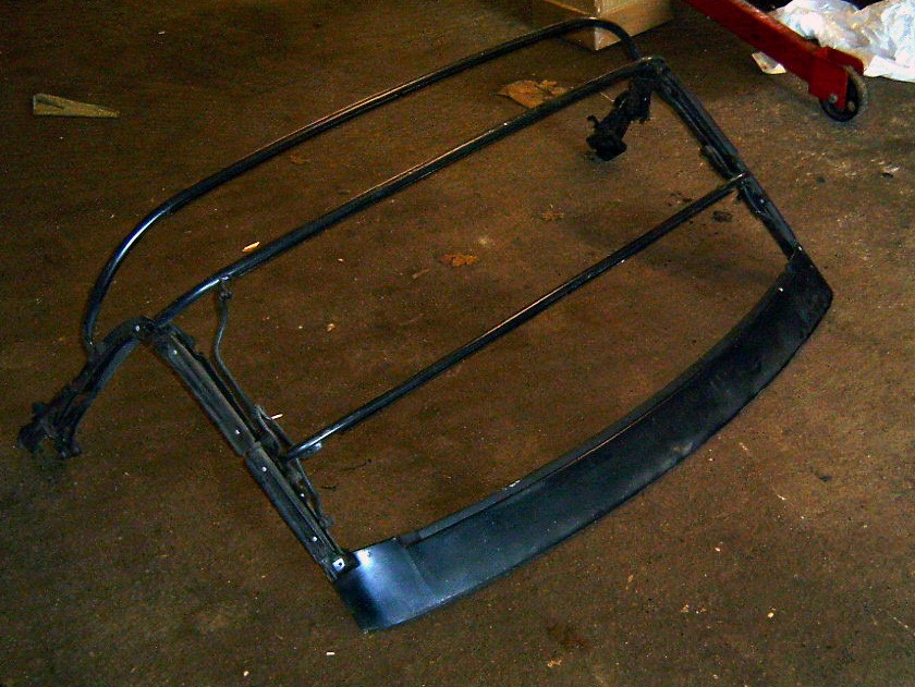 Soft top / hood frame, Mazda MX-5 mk1, USED