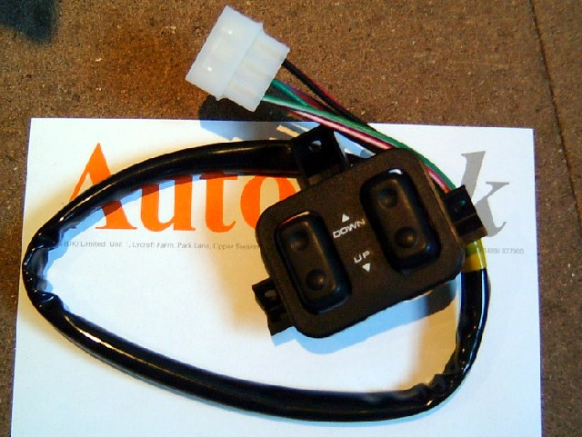 Switch electric windows Mazda MX-5 mk1 long cable NEW NA0166350A00